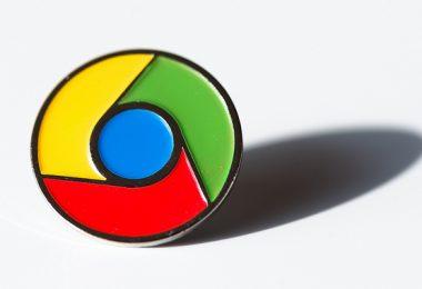 google chrome pin