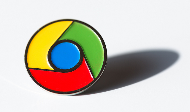 google chrome pin